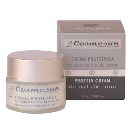 PROTEIN CREAM WITH SNAIL SLIME EXTRACT . C. 50 ml.