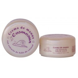 HAND CREAM WITH SNAIL EXTRACT . C. 100 ml.