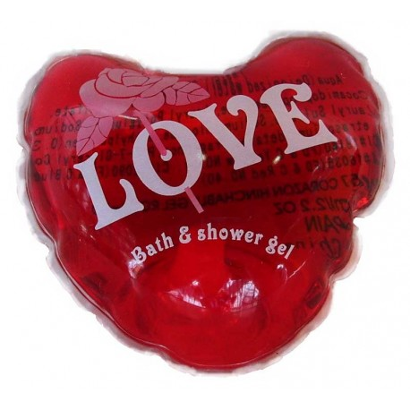 PERFUMED BATH GEL, HEART. C.65 ml.