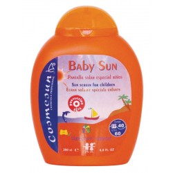 BABY SUN - SUNCREEN SPECIAL FOR CHILDREN . C.200 ml.