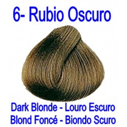 6 RUBIO OSCURO