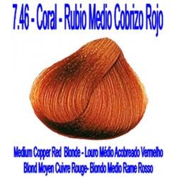7.46 CORAL - RUBIO MEDIO COBRIZO ROJO