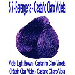 5.7 BERENGENA - CASTAÑO CLARO VIOLETA