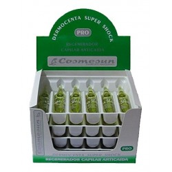 """SUPER SHOCK DERMOCENTA"" TO PREVENT HAIR LOSS 24 units"